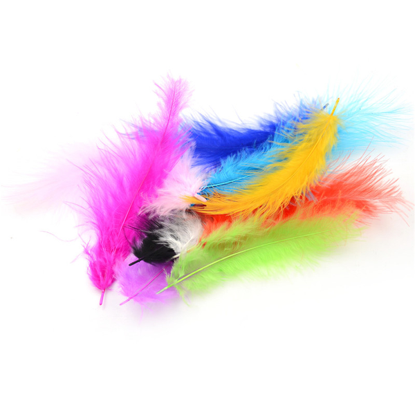 """4-6"""" 100pcs rooster tail feathers 10-15cm bridal wedding crafts"""