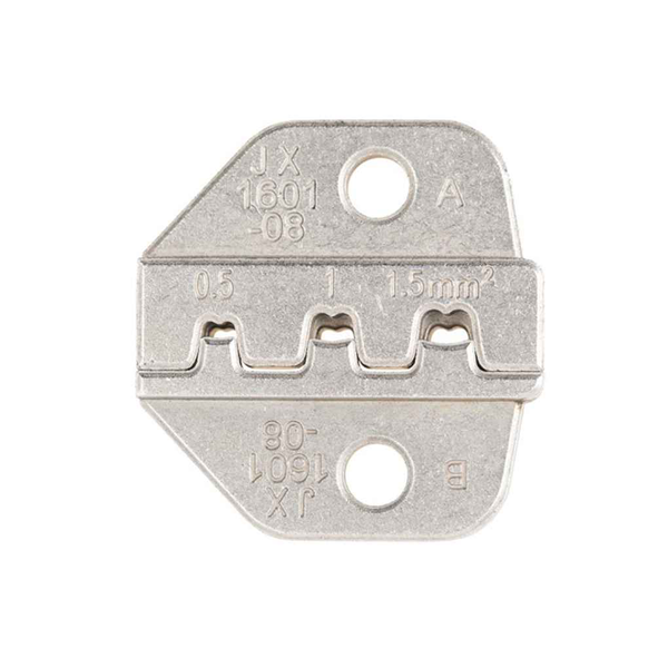 26-16 awg crimping die non-insulated open barrel connector die