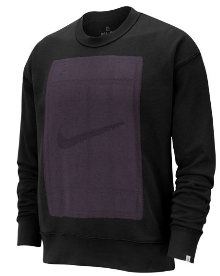Nike court crew reversible black ls