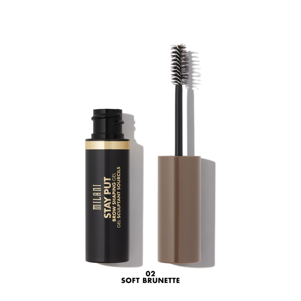Milani stay put brow shaping gel – 02 soft brunette