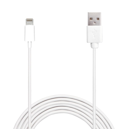 Puro cable apple mfi lightning kabel 2m – vit