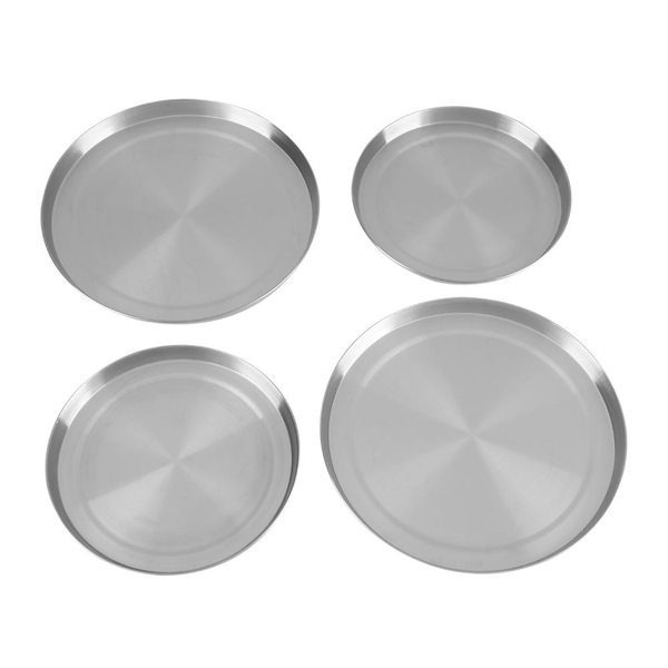 4pcs/set stainless steel kitchen stove top burner covers coo