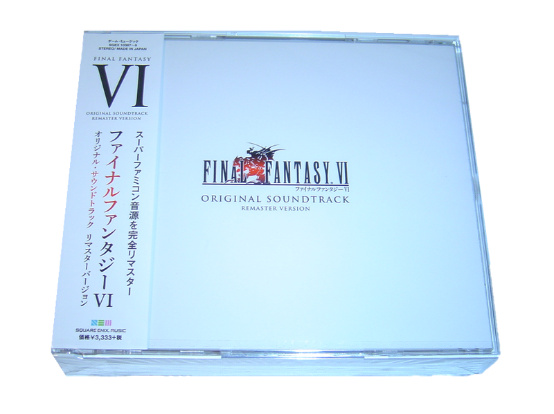 Final fantasy 6 original remaster version soundtrack musik