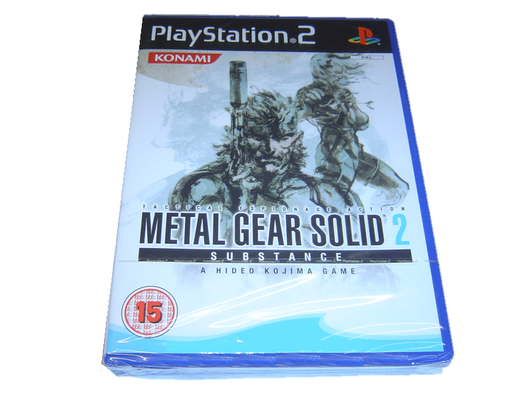 Metal gear 2 substance playstation 2