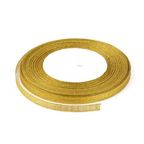 Glitter band organza material 2-pack x 22,8m presentband