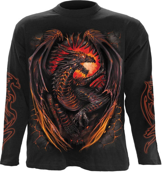 Dragon furnace långärmad tshirt medium