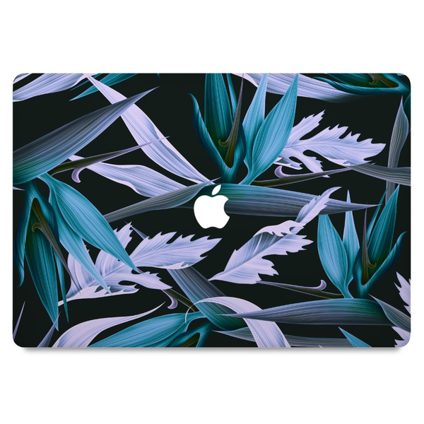 macbook air 11″ skin blue flower
