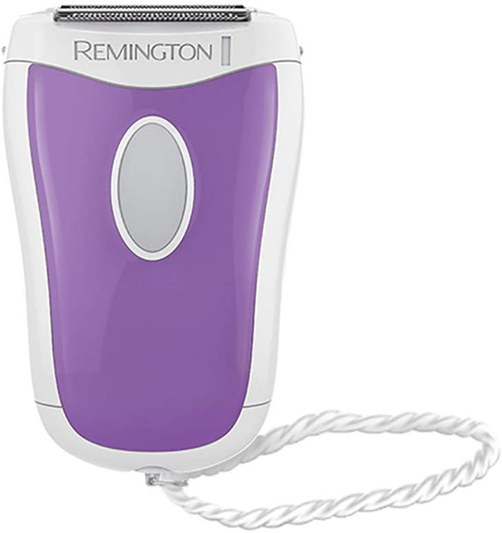 Remington wsf4810 compact smooth & silky body hair shaver with a