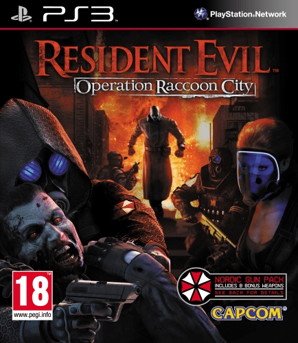 resident evil: operation raccoon city -ps3