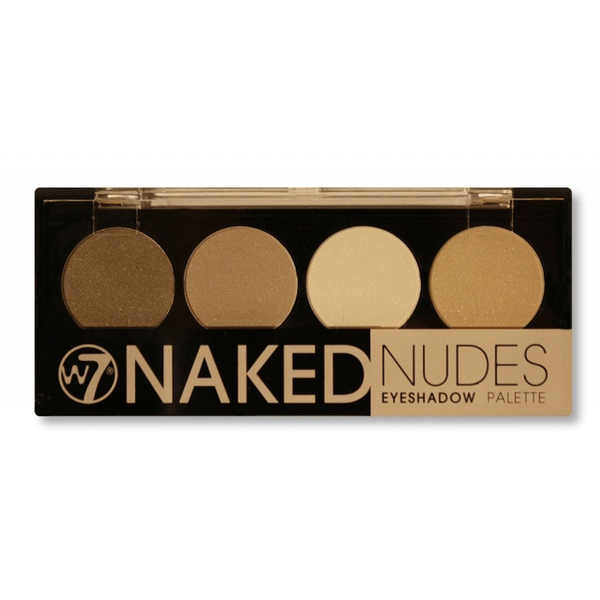 W7 cosmetics naked nudes eyeshadow palette