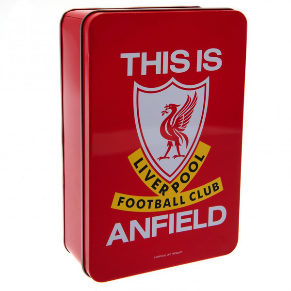 Liverpool fc supporters tin red/white utta4406