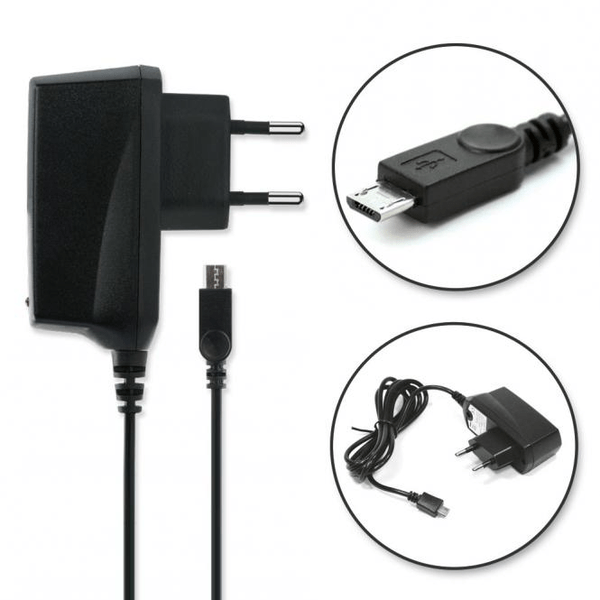 Nylon flätad 2 i 1 USB kabel Samsung multi function laddare