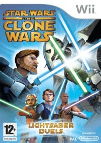 star wars: the clone wars – lightsaber duels – wii
