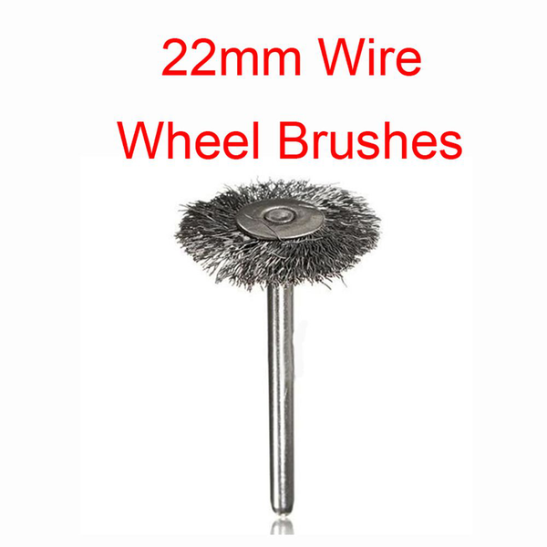 10pcs steel wire wheel polishing brush cup rust cleaner