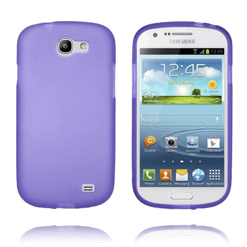 Frosted (lila) samsung galaxy express skal