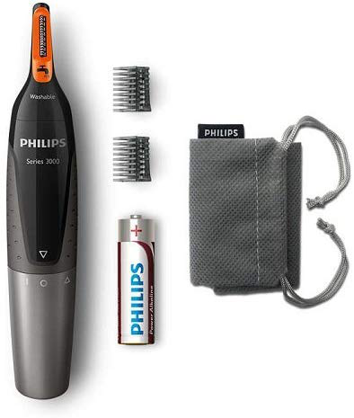 Philips nose hair ear hair and eyebrow trimmer series 3000