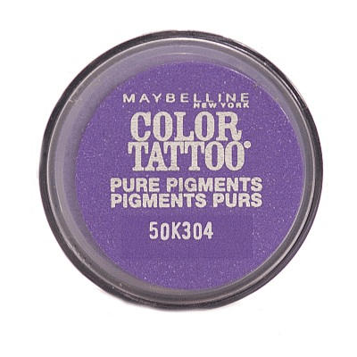 Maybellinetattoo pure pigments 24hr eyeshadow potent purple