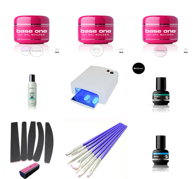 Gel starter kit för uv gel naglar! – manikyr – nagel kit