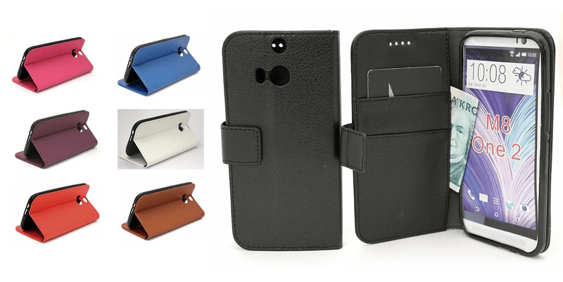 Standcase wallet htc one (m8)