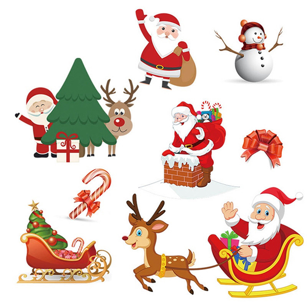 Christmas patch washable heat transfer ironing patch clothing sa
