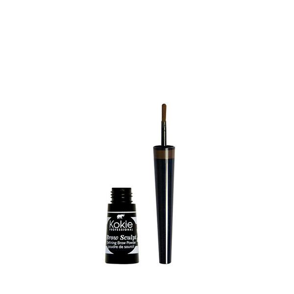 Kokie brow sculpt brow powder – medium brown
