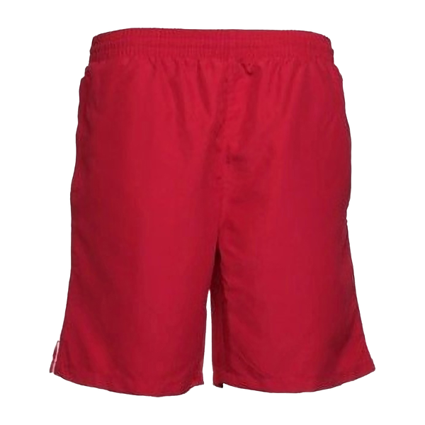 Unbranded Gamegear® track sports shorts / mens sportswear red/white utbc43