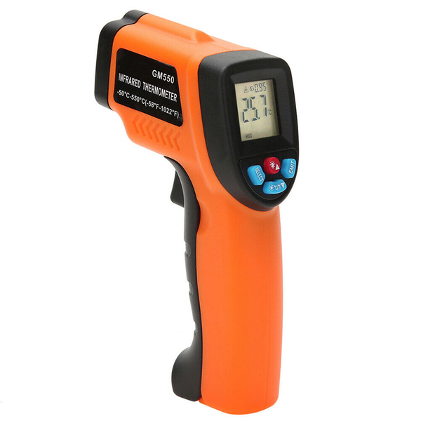 Mini digital infrared thermometer for measuring non-contact