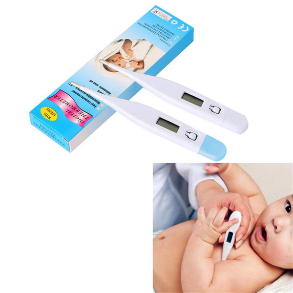 Digital thermometer temperature meter heating measuring fever