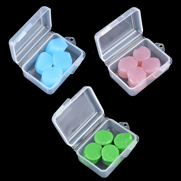 4pcs waterproof silicone soft protective ear plugs sleeping anti