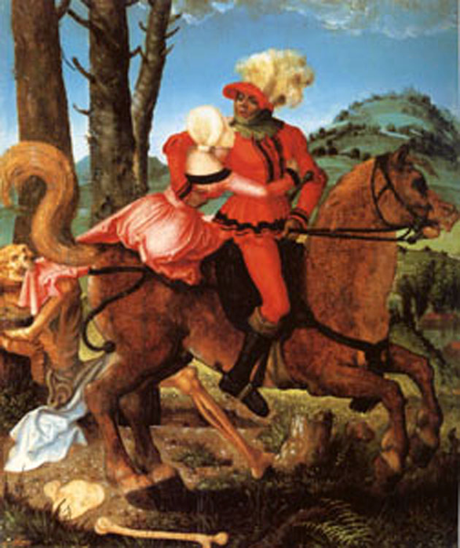 The Knight the Young Girl Girl Girl and Death, Hans Baldung 9efdaf