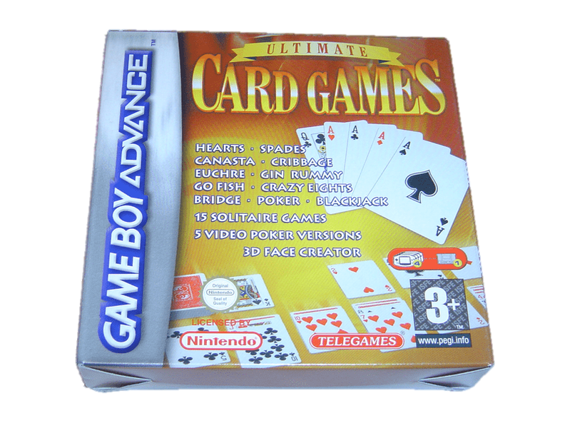 Ultimate card games nintendo gameboy advance gba