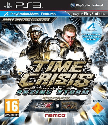 Time crisis: razing storm – ps3