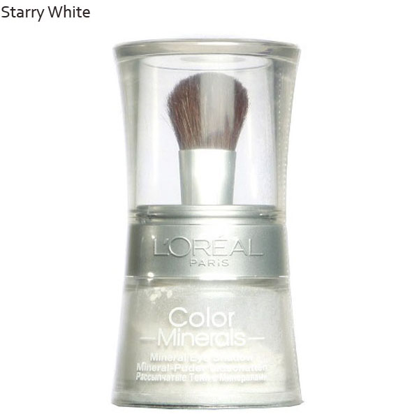 L'oreal color minerals eye shadow loose powder – stary white