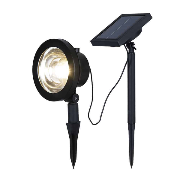 Spotlight solcell led 30 lumen