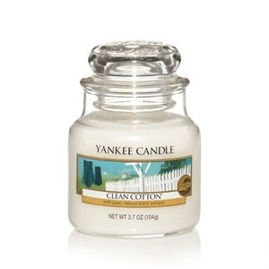 Yankee Candle Clean Cotton Small Jar 104g