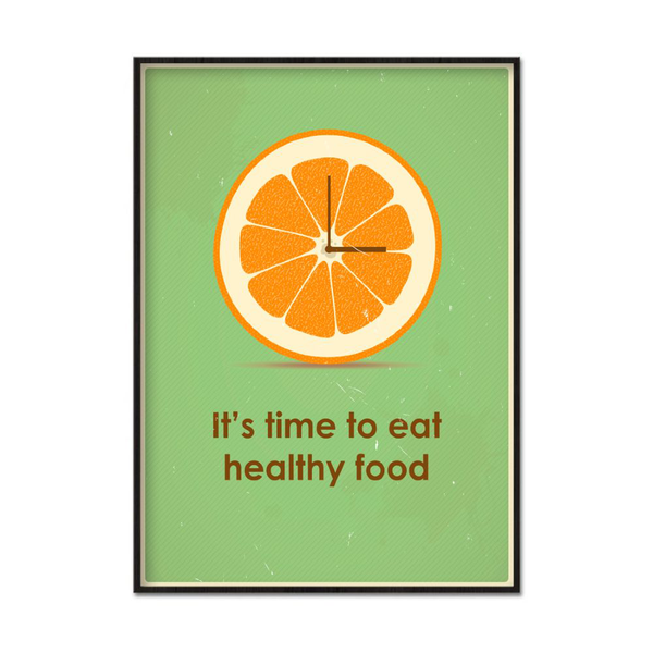 Poster A3 30x42cm Healthy Food