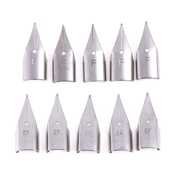5pcs stainless steel replacement nibs for wing sung hero 359/359