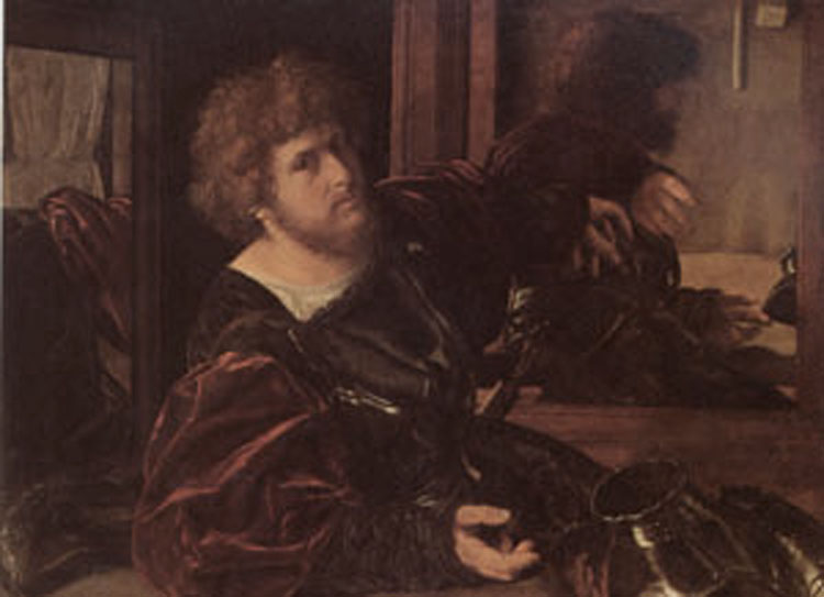 Portrait of the the the Artist,SAVOLDO, Giovanni Girolamo d95d90