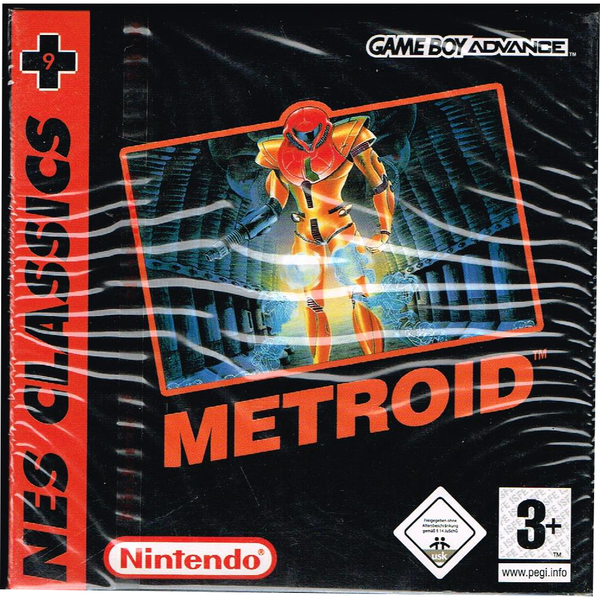 Metroid nes classics gameboy advance