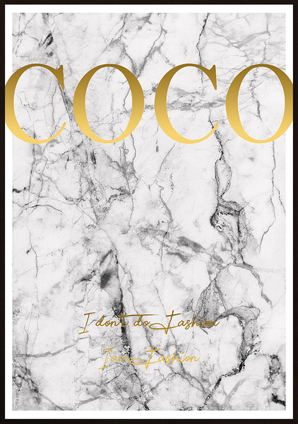 Poster Poster Poster - COCO Marmor No.9 70x100cm 115c70