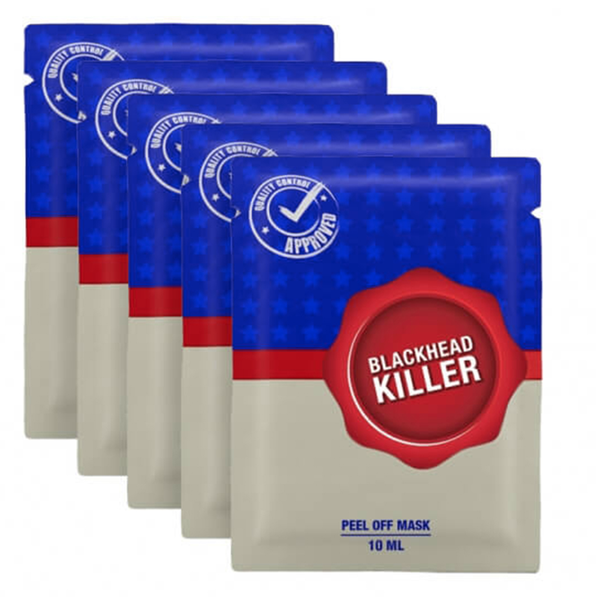 Blackhead killer 5-pack