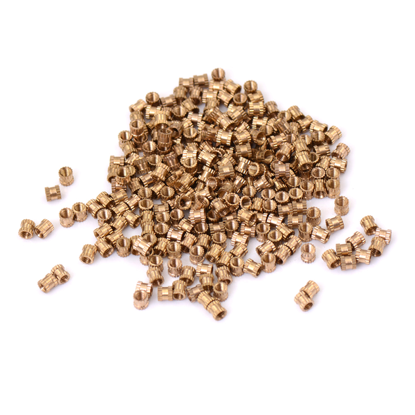 200pcs m3*4 copper nut inserts embedded parts copper knurl nut