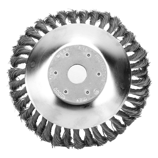 200mm steel wire trimmer head grass brush dust removal devic