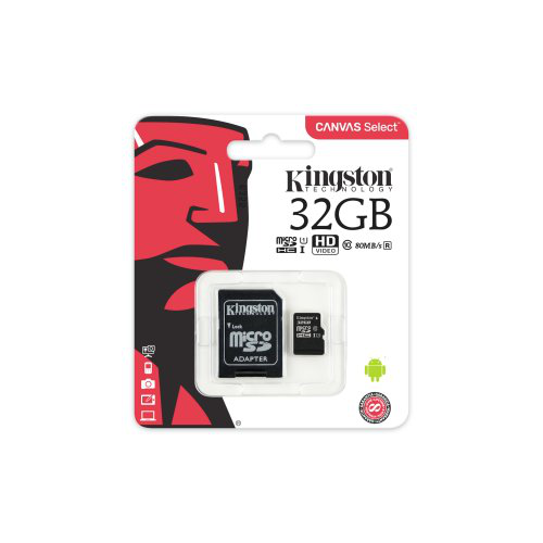Kingston microsd 32gb class 10