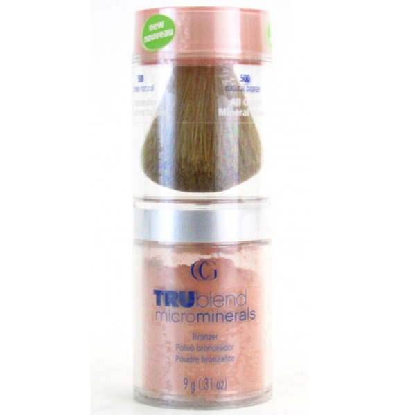 Covergirl trublend microminerals loose bronzer – natural bronze