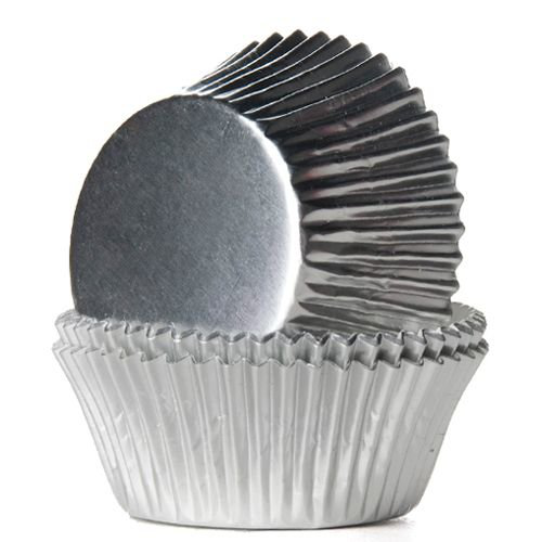 24 house of marie muffinsformar silver foil cupcakes muffins for