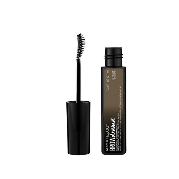Maybelline brow drama sculpting eyebrow mascara medium brown