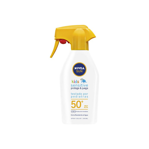 Spray solskydd sensitive kids nivea (300 ml)