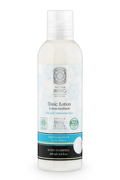 X natura siberica tonic lotion for oily & combination skin