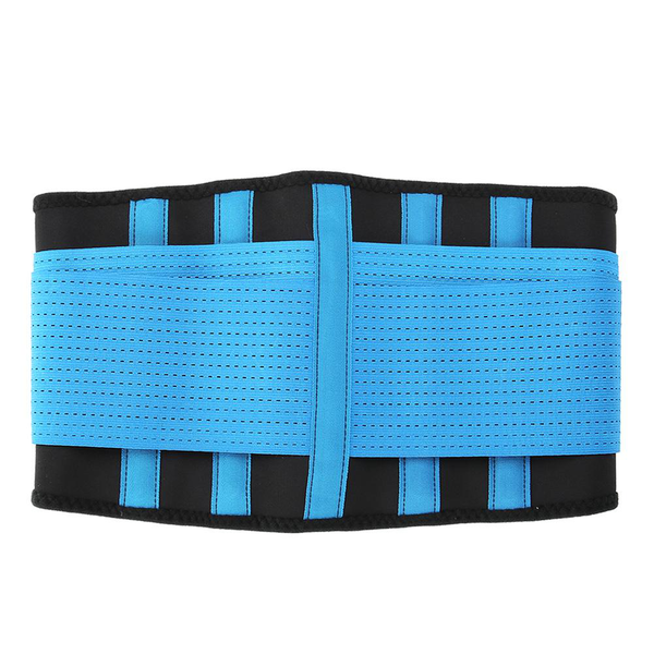 Breathable waist supporter protector belt elastic brace for